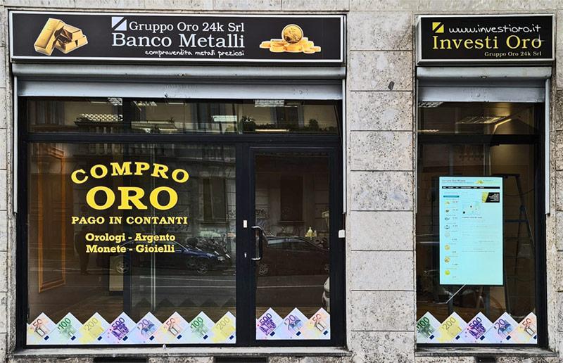 Negozio Compro Oro Milano